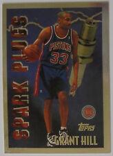 1995-96 Topps Basketball Spark Plugs Grant Hill Detroit Pistons #SP9