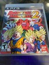 Dragon Ball: Raging Blast 2 (Sony PlayStation 3, 2010) Used W/ Manual