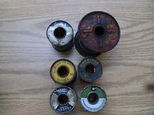 7.7# vintage solder nassau 7076 federated garnier alpha western electric rosin c