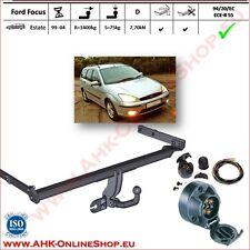 AHK ES7 Ford Focus Bj.1998-2004 Kombi Anhängevorrichtung Anhängerkupplung AHZV