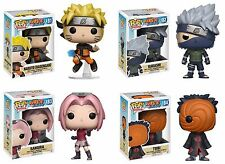 New Funko POP! Naruto set of 4 Vinyl Figure - Naruto, Kakashi, Sakura & Tobi