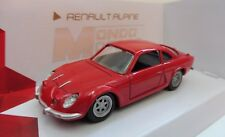 Renault Alpine Rouge Mondo Motors 1/43 Neuf boite d'origine