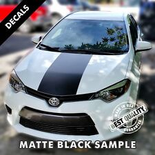 Toyota Corolla LE Pre-Cut Center Hood Stripes Decals Vinyl 2014 to 2017 |45