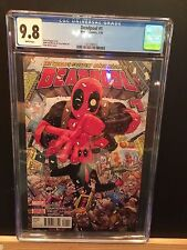 MARVEL 2016 DEADPOOL #1 CGC 9.8! RARE KEY FIRST ISSUE! FRESH FROM CGC!!!