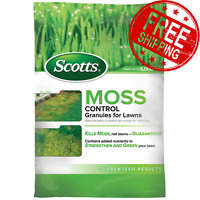 Best Moss Control Scotts Weed Killer Granules Lawn Grass Treatment Yard Garden