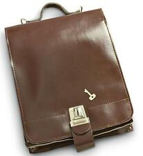 Shoulder Messenger Military Vintage Bag Army Leather Case School Retro Satchel