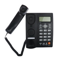 Landline Phone Corded Home Office Desk Telephone Backlit Display Caller ID U_X