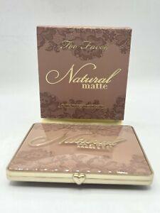 Too Faced Natural Matte Neutral Eye Shadow Palette NIB
