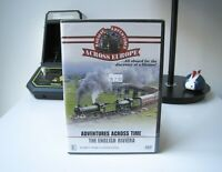 RAILWAY ADVENTURES ACROSS EUROPE - THE ENGLISH RIVIERA - DVD | LIKE NEW & SEALED