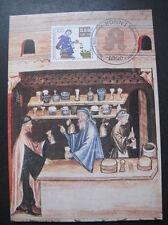 BRD, Bund Maximumkarte MiNr. 1490 Ersttag Bonn gestempelt (B 703)
