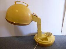 Lady Schick Consolette Salon Style Hair Dryer Vintage Yellow Model 307E