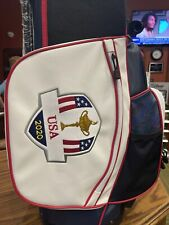 New Sold Out 1/800 Team Usa Ryder Cup 2020 Golf Stand Carry Bag 🇺🇸 Champs