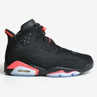Air Jordan 6 Retro Infrared 23 Black Red VI 2015 Nike Men's 384664-023