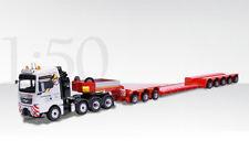 Conrad 70213 MAN TGX SLT 4-Axle Tractor w/Faymonville Variomax Semi-Trailer 1/50