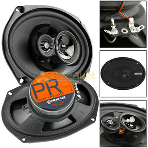 """Memphis Audio 6x9"""" 3 Way Coaxial Speaker 120 Watts Max Power Reference PRX6903"""