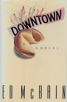 Downtown Signed 1st Edition by Ed McBain 1st Print Hardcover Plastic Protective