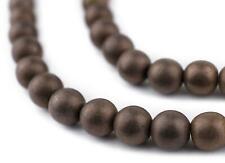 Copper Round Hematite Beads 8mm Stone 16 Inch Strand