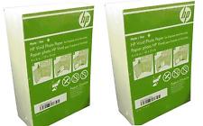 "2-Pk 180-Pack HP 4"" x 6"" Matte Vivid Photo Picture Paper cg465a 360 Sheets Total"