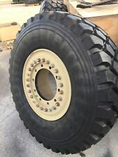 Michelin 395/85R20 XZL Tire NEW! 10 Lug Aluminum Wheel MRAP Military M35
