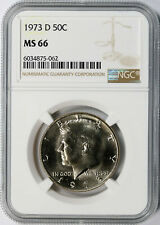 1973-D 50c Kennedy Half Dollar NGC MS66