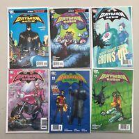 Lot of 6 Batman and Robin (2009) #2-4 6 11 13 VF Very Fine