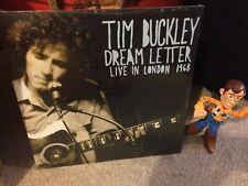 TIM BUCKLEY: DREAM LETTER (LP vinyl *BRAND NEW*)