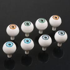 8PCS 20mm Round Acrylic Doll Bear Animal Craft Plastic Eyes Eyeball Halloween