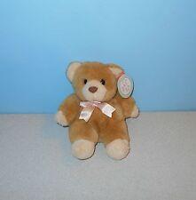 "1996 Cuddle Wit Bean Plush Teddy Bear 7"" Huggy the Bear Stuffed Animal"