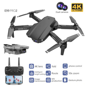 New RC Mini 4K 1080P 720P Dual Cam WIFI FPV Aerial Photography Fordable Dron Toy