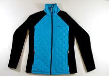 NWT Women Ralph Lauren Fleece Jacket XS MSRP Blue/Black $120 Free Ship