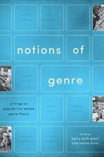 NOTIONS OF GENRE - GRANT, BARRY KEITH (EDT)/ KURTZ, MALISA (EDT) - NEW PAPERBACK