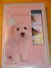 Children's Boxed Valentine's Day Cards Rahel Hale  Puppies  New!