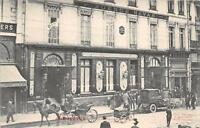 CPA 75 PARIS IIe CHAMPEAUX FACADE PLACE DE LA BOURSE (BELLE ANIMATION VOITURE AT