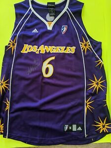 Los Angeles Sparks Sidney Spencer  Signed Jersey
