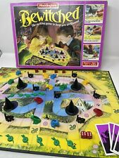 Vintage Waddington's BEWITCHED Board Game 1988 -Witches Cats & Spells - Complete