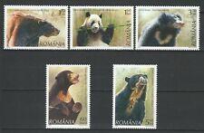 Romania 2008 Fauna Bear 4 MNH stamps