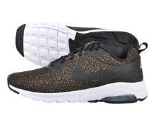 Nike Men Air Max Motion Low Print Olive Flak, Black, White