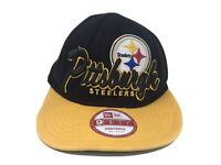 NEW ERA 9FIFTY SNAPBACK HAT NFL PITTSBURGH STEELERS Small-medium Used