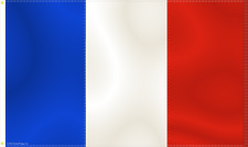 FRENCH FRANCE FLAG  5FT X 3FT 150CM X 90CM TRICOLORE TRICOLOUR BLUE WHITE RED