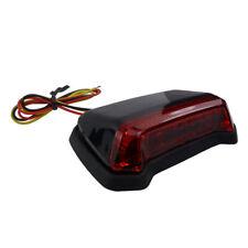 LED Motorrad flaches Fender Rücklicht Bremslicht Flatstyle schwarz Flatfender