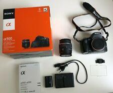 Sony Alpha 500 A500 Spiegelreflexkamera (mit DT 18-55mm 1:3.5-5.6 SAM)  Z099