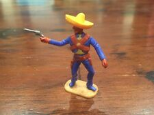 Timpo Mexican - Royal Blue/ Yellow Variation - Wild West - 1970's
