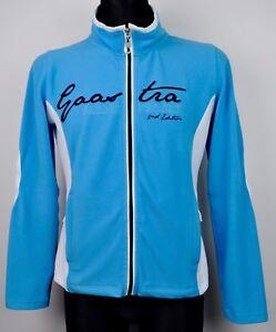 GAASTRA Zip Up Women's M Blue Jumper Sweatshirt Fleece Cardigan Jacket Sweater