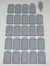 LEGO LOT OF 25 NEW LIGHT BLUISH GREY 3 X 3 X 6 CASTLE WALLS PANEL PIECES