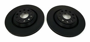 RTS Rear Brake Discs, suitable for VW, Seat, Skoda and Audi Part no. NBD1471B