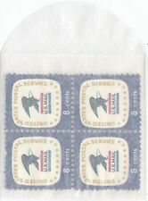 100 Open End Glassine Paper Envelopes 2 1/8 x 2 1/8 JBM Small Stamp Storage Bags