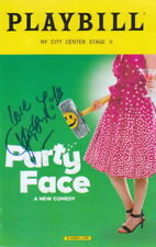 HAYLEY MILLS.. Party Face Playbill - SIGNED