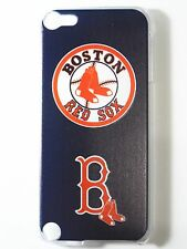 MLB Boston Red Sox Apple iPod Touch iTouch 5/6th Plastic One-Piece Slim Case