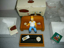 Homer Simpson 1998 Fossil Watch * New In Box * Only 500 Made / Rare Edition