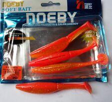 Noeby pêche leurre souple odorant Shad Minnow 10cm 9g couleur 207